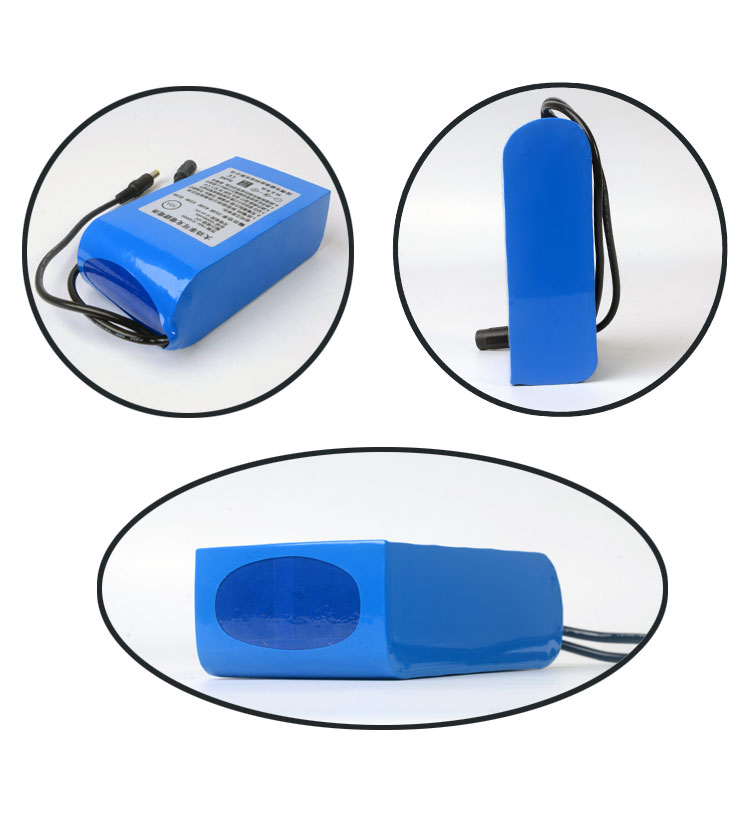 OEM 12V Lithium ion Rechargeable Battery pack 10000mAh for HID OR Speaker