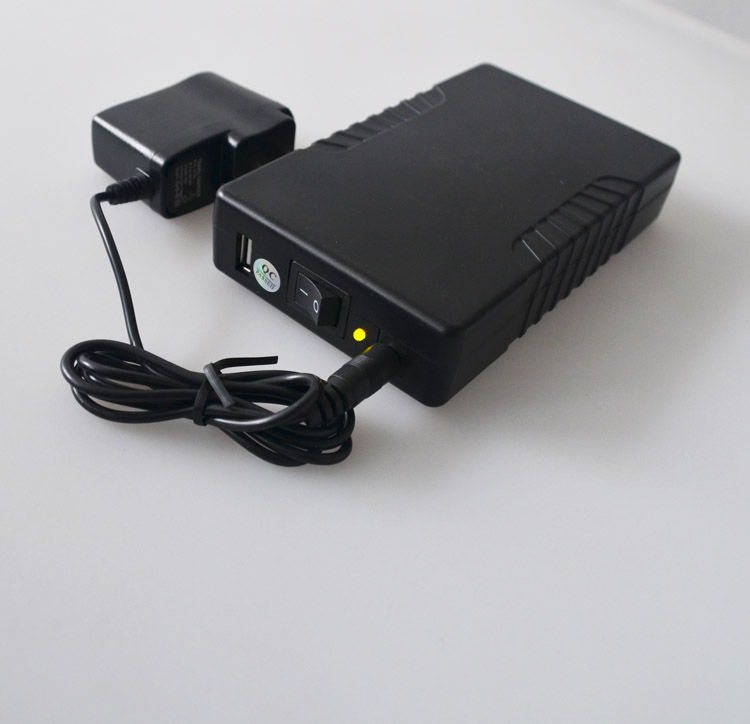 rechargeable lithium ion battery 12v 9800mah with black plastic case -1
